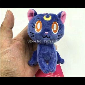 Keychain moon cat (sailor moon)